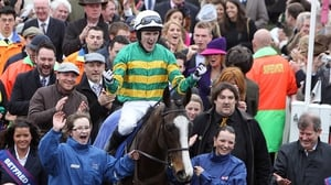 AP McCoy won the Gold Cup on Synchronised in 2012