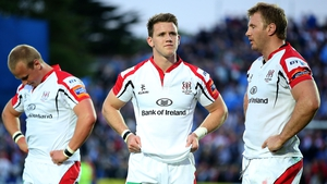 Luke Marshall (left) and Roger Wilson (right), seen here with Ulster team-mate Craig Gilroy, both face disciplinary hearings