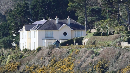 The property was owned by solicitor Brian O'Donnell, however, the impressive house was seized by by a receiver acting on behalf of the bank