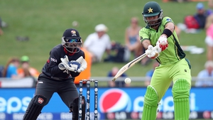 Ahmed Shehzad was the star of the show for Pakistan