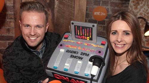 Nicky Byrne and Jenny Greene