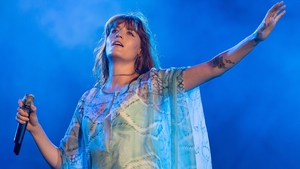 Florence flying high Stateside