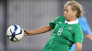 Ruesha Littlejohn got Ireland's equaliser a