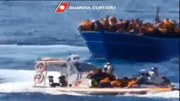 RTÉ News: Italian coast guard carries out seven rescue operations in 24 hours