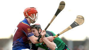 UL's Brian Stapleton and David Dempsey of LIT during the Fitzgibbon Cup semi-final on Friday