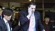 Mark Lippert was bleeding from wounds to his face and wrist but was able to walk after the attack