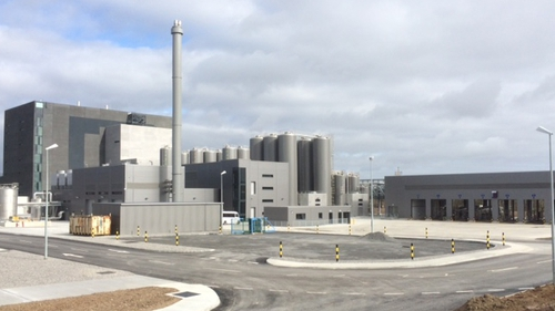 The processing facility is at Belview Port on the Kilkenny-Waterford border