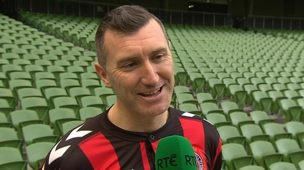 """Jason Byrne: """"I've had a good pre-season, one of my best in years."""""""