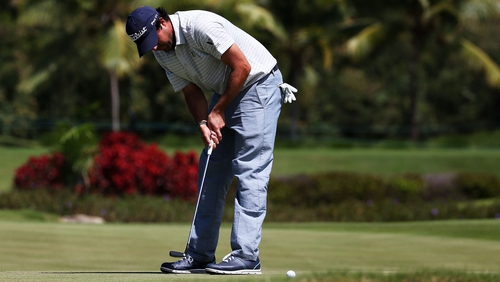 Mark Hubbard leads the way at the Puerto Rico Open