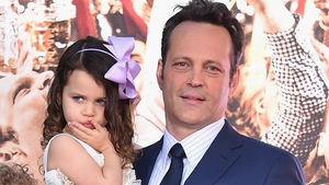 Vince Vaughn and his daughter Lochlyn