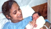 Celeste Nurse pictured with new born Zephany (Pic: Nurse family)