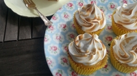 Lemon Meringue Cupcakes  - This is a fabulous lemon meringue cupcake recipe using Boutique Bakes' lemon drizzle cake mix. A perfect recipe to treat your mum this Mother's Day.