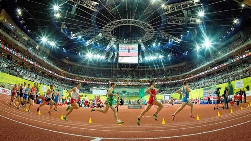 Paul Pollock ran a seasonal best time in the 3,000m