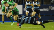 Connacht conceded late in Wales