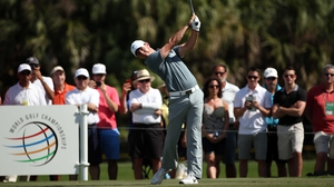 It is not the first time McIlroy's frustrations have got the better of him