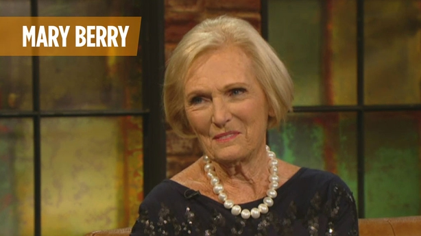 Mary Berry on The Late Late Show