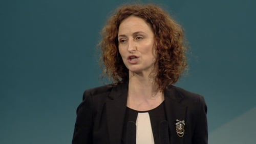 Lynn Boylan said 'Sinn Féin's position is clear - we are absolutely opposed to domestic water charges'