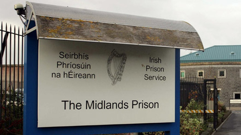 A           number of staff have tested positive for the virus at the           Midlands Prison (file pic)