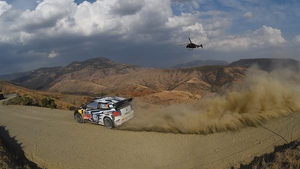 It was Ogier's third successive Mexico win after triumphs in 2013 and 2014