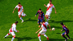 Lionel Messi scored his 32nd hat-trick for Barcelona, and his 24 in La Liga