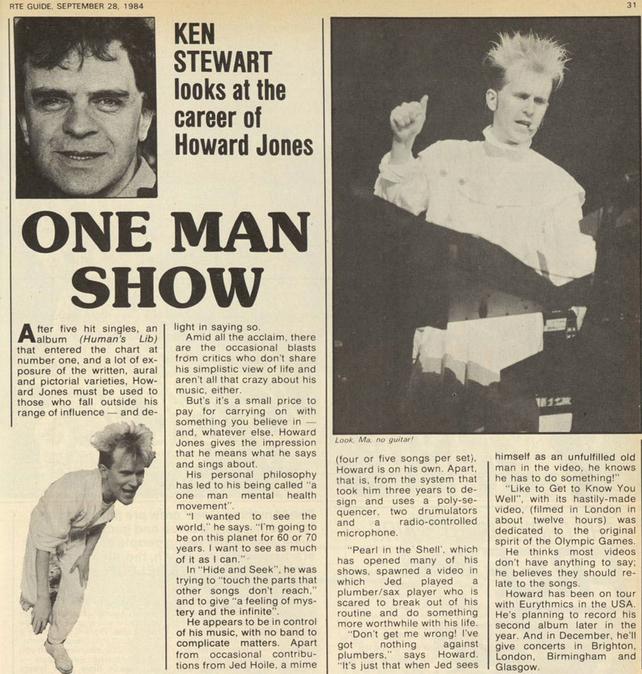 Howard Jones (1984)