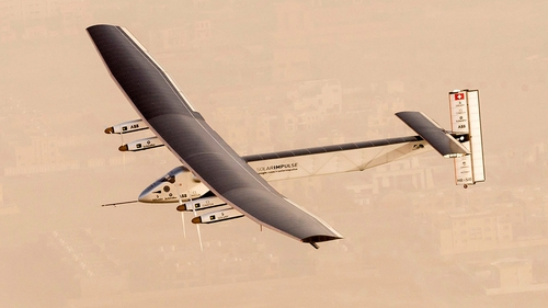 Two pilots will take turns to fly the journey, which should take five months to complete