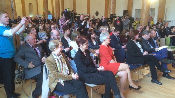 Up to 300 people attended the launch of the new group Yes Equality