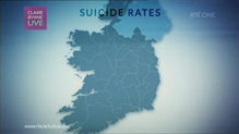 Claire Byrne Live discusses RTÉ Investigations unit examination of suicide statistics and what it says about youth mental health.