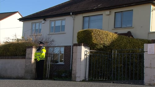 Gardaí were called to the house in Landscape Park following concerns the man and woman had not been seen for a period of time