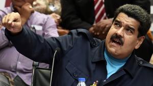 Venezuelan president Nicolas Maduro took office in 2013
