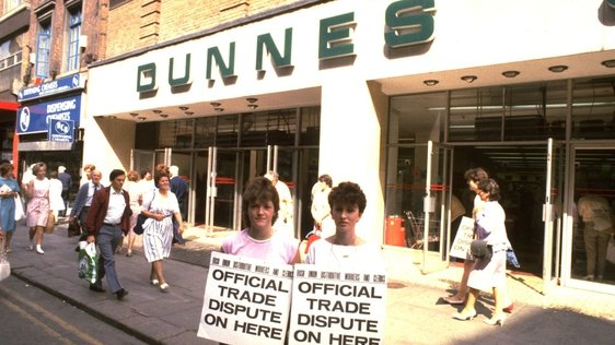 Dunnes Stores Workers Apartheid Strike