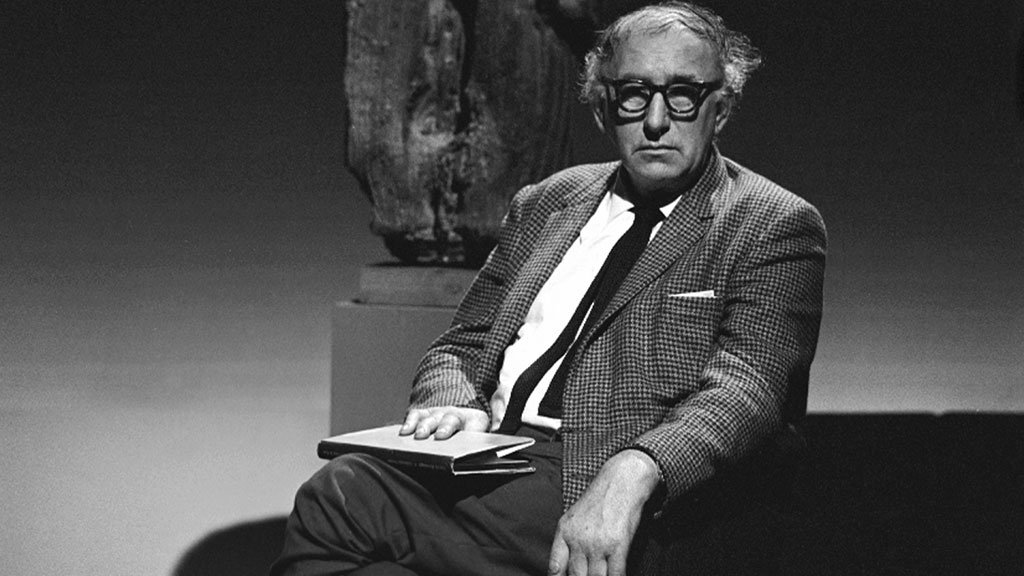 Patrick Kavanagh on 'Spectrum' in 1964.