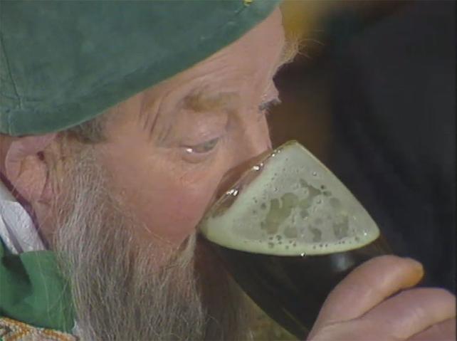 St Patrick Drinking Porter