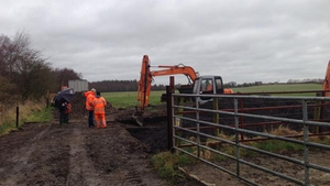 The search is being carried out close to Oristown Bog, where the remains of another one of the Disappeared was recovered
