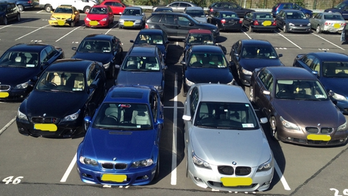 18 BMWs have been seized by gardaí as part of the investigation