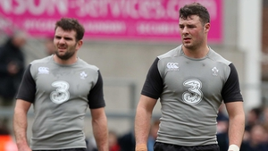 Jared Payne and Robbie Henshaw have had a productive partnership in the centre for Ireland so far