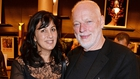 Fiction writer Polly Samson and her husband, Pink Floyd guitarist David Gilmour