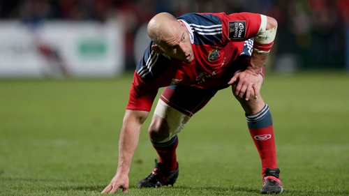 BJ Botha has signerd on for six more months at Munster