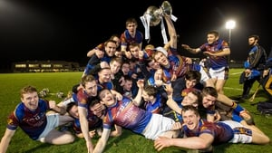 UL players celebrate with the Fitzgibbon Cup