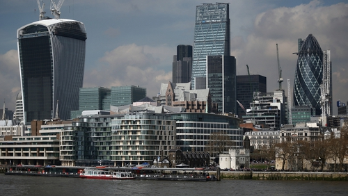 The City of London hosts most of the EU's trading for banks and insurance companies