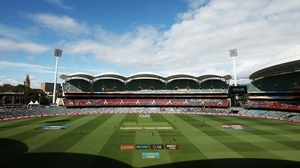 The Adelaide Oval will play host to Ireland v Pakistan