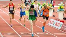 Mark English took an 800m silver in Prague
