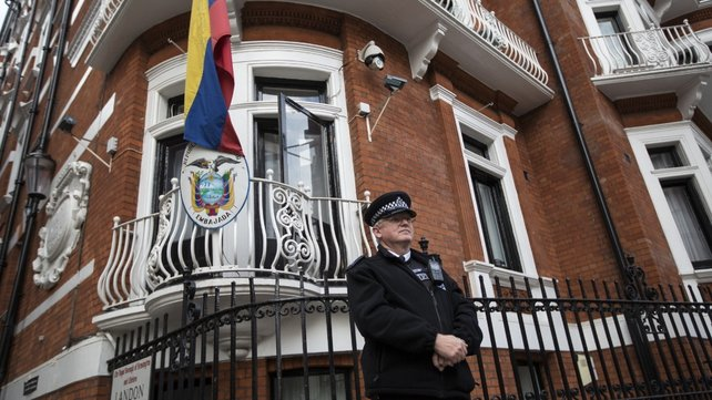 Julian Assange has been holed up in the Ecuadorian embassy in London since 2012