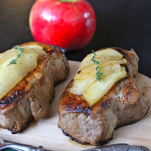 Neven's Recipes - Coddled pork chops with Artisan cider