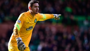 Craig Gordon is back between the sticks for Celtic