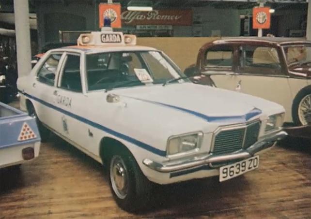 Garda Car 1975