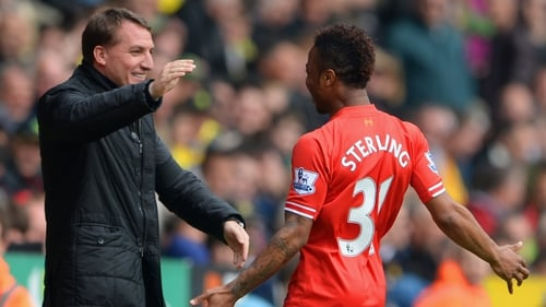 Brendan Rodgers wants supporters to back Raheem Sterling