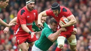 Sam Warburton was talismanic for Wales against Ireland