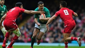 Johnny Sexton featured in all five of Ireland's 2011 Rugby World Cup matches