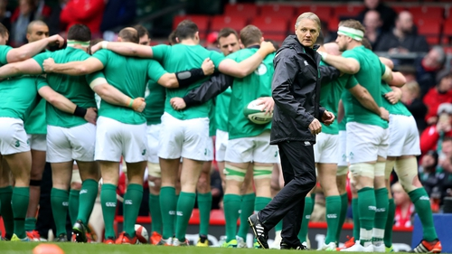 Ireland head coach Joe Schmidt said his players would have some bruises on Monday